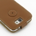 Samsung Galaxy Note 2 Leather Flip Top Case (Brown) protective carrying case by PDair