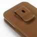 Samsung Galaxy Note 2 Pouch Case with Belt Clip (Brown) genuine leather case by PDair