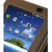 Samsung Galaxy Tab Leather Flip Case (Brown) genuine leather case by PDair
