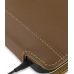 Samsung Galaxy Tab Leather Flip Case (Brown) top quality leather case by PDair