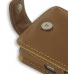 Samsung SGH-i780 Leather Flip Case (Brown) genuine leather case by PDair