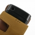 Samsung Captivate Galaxy S Leather Flip Case (Brown) handmade leather case by PDair