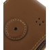 Samsung Google Nexus S Leather Flip Case (Brown) protective carrying case by PDair