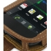 Samsung Google Nexus S Leather Flip Case (Brown) top quality leather case by PDair