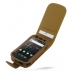 Samsung Google Nexus S Leather Flip Case (Brown) offers worldwide free shipping by PDair