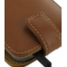 Samsung Galaxy S2 T989 Leather Flip Top Case (Brown) handmade leather case by PDair