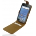 Samsung Galaxy S2 T989 Leather Flip Top Case (Brown) custom degsined carrying case by PDair