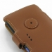Sony Walkman NWZ-Z1060 Z1050 Z1040 Leather Flip Cover (Brown) protective carrying case by PDair