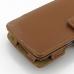 Sony Walkman NWZ-Z1060 Z1050 Z1040 Leather Flip Cover (Brown) handmade leather case by PDair