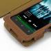 Sony Walkman NWZ-Z1060 Z1050 Z1040 Leather Flip Cover (Brown) genuine leather case by PDair