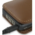 Sony Walkman NWZ-X1050 X1060 X1000 Leather Sleeve Pouch Case (Brown) protective carrying case by PDair