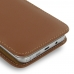 Samsung Galaxy Note 5 Pouch Case with Belt Clip (Brown) genuine leather case by PDair