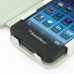 BlackBerry Z10 Leather Flip Cover (White) genuine leather case by PDair