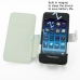 BlackBerry Z10 Leather Flip Cover (White) top quality leather case by PDair