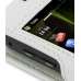 Samsung i8000 Omnia II Leather Sleeve Case (White) genuine leather case by PDair
