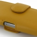 iPhone 5 5s Leather Holster Case (Golden Palm) genuine leather case by PDair