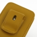 iPhone 5 5s Pouch Case with Belt Clip (Golden Palm) genuine leather case by PDair