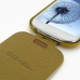 Samsung Galaxy S3 Slim Leather Flip Top Case (Golden Palm) top quality leather case by PDair