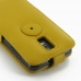Samsung Galaxy S2 LTE i9210 Leather Flip Top Case (Golden Palm) top quality leather case by PDair