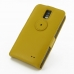 Samsung Galaxy S2 LTE i9210 Leather Flip Top Case (Golden Palm) custom degsined carrying case by PDair
