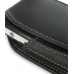 Sony Ericsson W960 Sleeve Leather Pouch Case (Large/Black) genuine leather case by PDair