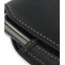 Samsung Jack SGH-i637 Sleeve Leather Pouch Case (Large/Black) handmade leather case by PDair