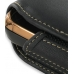 Samsung B7620 Giorgio Armani Sleeve Leather Pouch Case (Extra Large/Black) handmade leather case by PDair