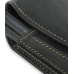 Samsung SCH-i760 Sleeve Leather Pouch Case (Extra Large/Black) genuine leather case by PDair