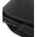 Samsung i7500 Galaxy Sleeve Leather Pouch Case (Large/Black) genuine leather case by PDair