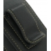 Samsung Pixon M8800 Sleeve Leather Pouch Case (Large/Black) protective carrying case by PDair