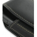 Samsung ACE i325 Sleeve Leather Pouch Case (Extra Large/Black) genuine leather case by PDair