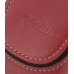 Mitac Mio A701 Sleeve Leather Pouch Case (Large/Red) protective carrying case by PDair