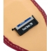 Motorola MOTOSURF A3100 Sleeve Leather Pouch Case (Large/Red) genuine leather case by PDair