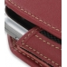 Motorola MOTOSURF A3100 Sleeve Leather Pouch Case (Large/Red) top quality leather case by PDair