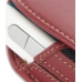 Motorola E680 E680i Sleeve Leather Pouch Case (Large/Red) top quality leather case by PDair