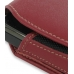 Nokia N900 Sleeve Leather Pouch Case (Large/Red) genuine leather case by PDair
