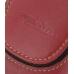 Sony Ericsson P1i P1 Sleeve Leather Pouch Case (Large/Red) genuine leather case by PDair