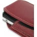 Sony Ericsson W960 Sleeve Leather Pouch Case (Large/Red) genuine leather case by PDair