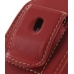 Samsung B3210 CorbyTXT Sleeve Leather Pouch Case (Large/Red) protective carrying case by PDair