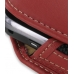 Samsung S5560 Marvel Sleeve Leather Pouch Case (Large/Red) handmade leather case by PDair