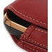 Samsung B7620 Giorgio Armani Sleeve Leather Pouch Case (Large/Red) handmade leather case by PDair
