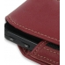Samsung i7500 Galaxy Sleeve Leather Pouch Case (Large/Red) genuine leather case by PDair