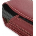 Samsung ACE i325 Sleeve Leather Pouch Case (Large/Red) genuine leather case by PDair