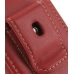 Samsung Corby2 Sleeve Leather Pouch Case (Large/Red) protective carrying case by PDair