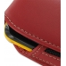 Samsung Corby2 Sleeve Leather Pouch Case (Large/Red) handmade leather case by PDair