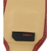 Samsung Corby2 Sleeve Leather Pouch Case (Large/Red) genuine leather case by PDair