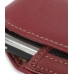 Samsung Omnia i908 i900 Sleeve Leather Pouch Case (Large/Red) handmade leather case by PDair
