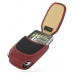 Samsung Omnia i908 i900 Sleeve Leather Pouch Case (Large/Red) custom degsined carrying case by PDair