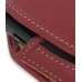 Samsung S8000 Jet Sleeve Leather Pouch Case (Large/Red) genuine leather case by PDair