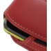 Samsung Galaxy Mini Sleeve Leather Pouch Case (Large/Red) handmade leather case by PDair